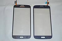 Тачскрин / сенсор (сенсорное стекло) для Samsung Galaxy Mega 5.8 i9150 | i9152 (темно-синий цвет)
