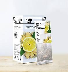 Фруктово-травяной чай Имбирь-Лимон Hello Tea 20 пак