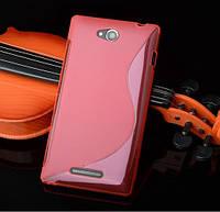 Силиконовый чехол для Sony Xperia C s39h c2305
