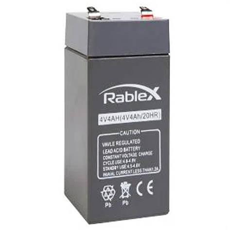 Аккумулятор RABLEX 4V 4Ah, фото 2