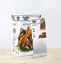 Черный пряный чай Масала Hello Tea 20 пак