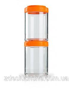 Контейнер спортивний BlenderBottle GoStak 2 Pak Orange Original SKL24-277231