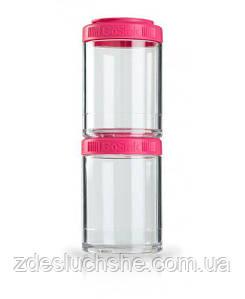 Контейнер спортивний BlenderBottle GoStak 2 Pak Pink Original SKL24-277232