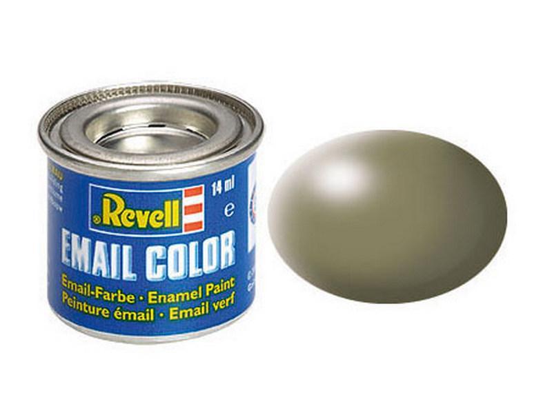 Серовато-зеленая шелково-матовая. Краска эмалевая.14мл.REVELL 32362