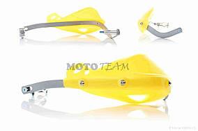 Защита рук  мото  #33  желтые  FHS