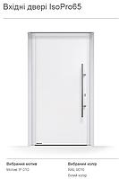 Двері вхідні вуличні теплі зламостійкі IzoPro 65