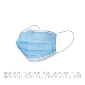 Маска защитная медицинская 100 шт SKL11-277576