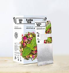 Зеленый чай Зеленая мята Hello Tea 20 пак