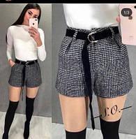 Жіночі шорти в клітку новинка 2021