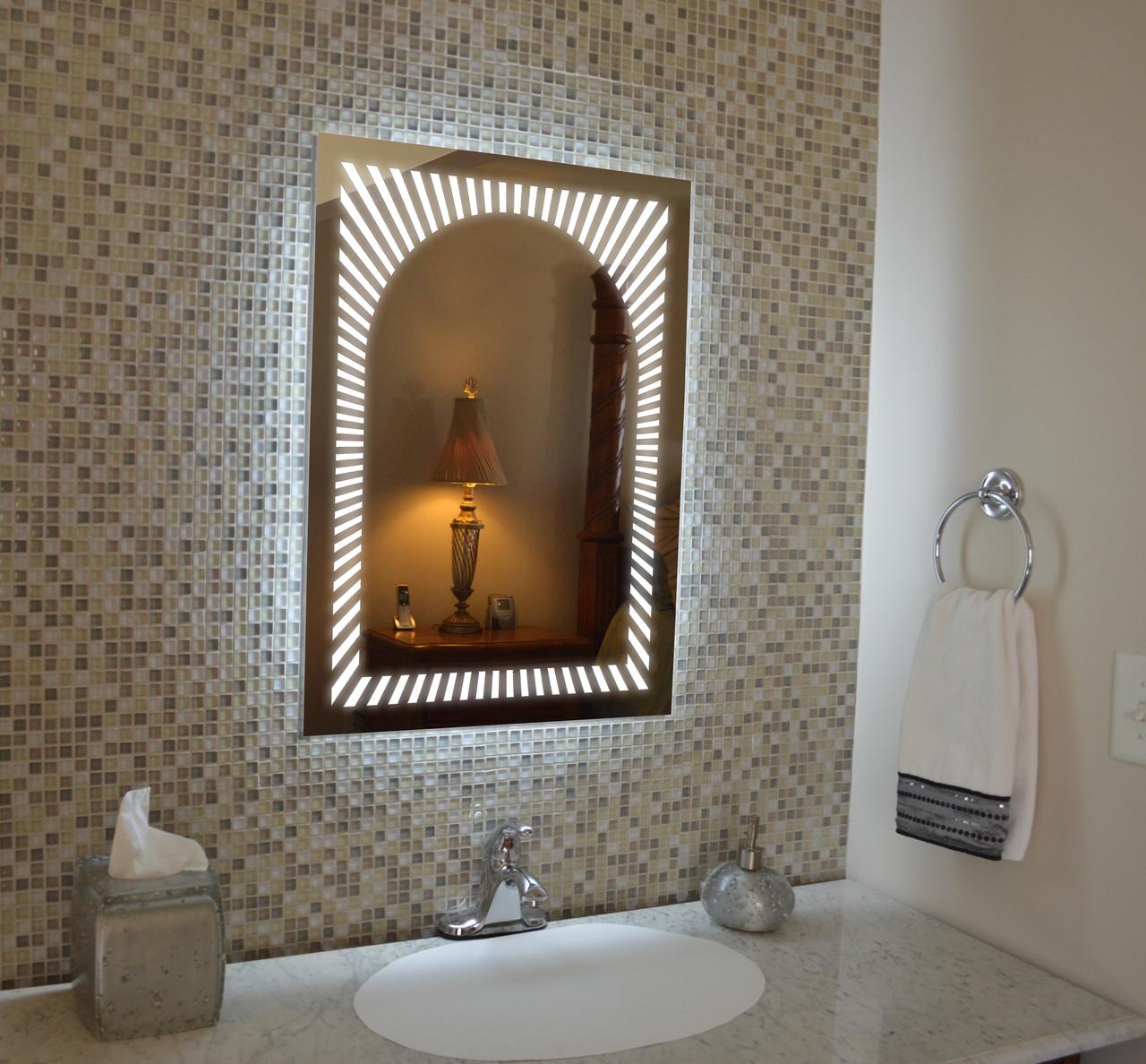 Зеркало LED (60*80*2,5см) VZ-AL-D24