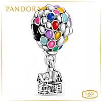 Пандора Шарм Летающий дом с Воздушными шарами Pandora 798962C01