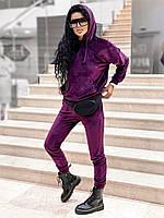 Костюм спортивный велюровый женский МАРСАЛА (ПОШТУЧНО), фото 1