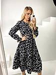 Женское платье с цветочным принтом, фото 10