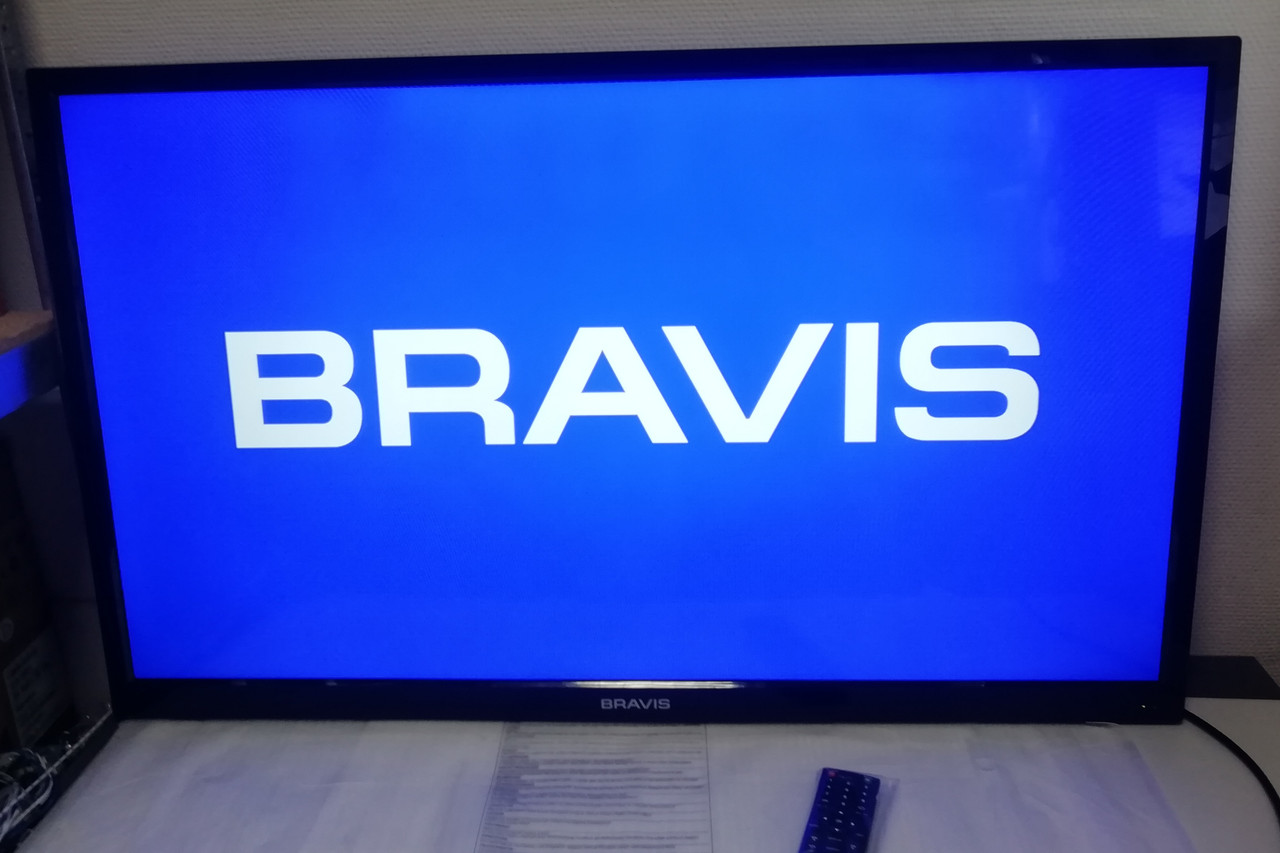 "Большой Лед телевизор 46"" BRAVIS LED-46D19 FullHD"