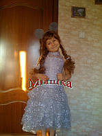 Детский карнавальный костюм Мышка платье - прокат, Киев, Троещина