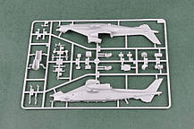 Китайский ударный вертолет Z-10. Сборная модель вертолета в масштабе 1/72. HOBBY BOSS 87253, фото 2