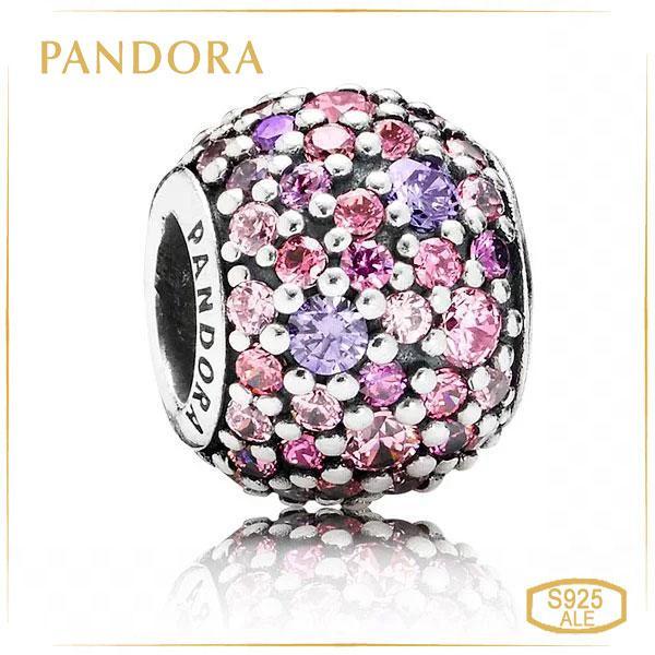 "Пандора Шарм ""Разноцветное Pave"" Pandora 791261ACZMX"