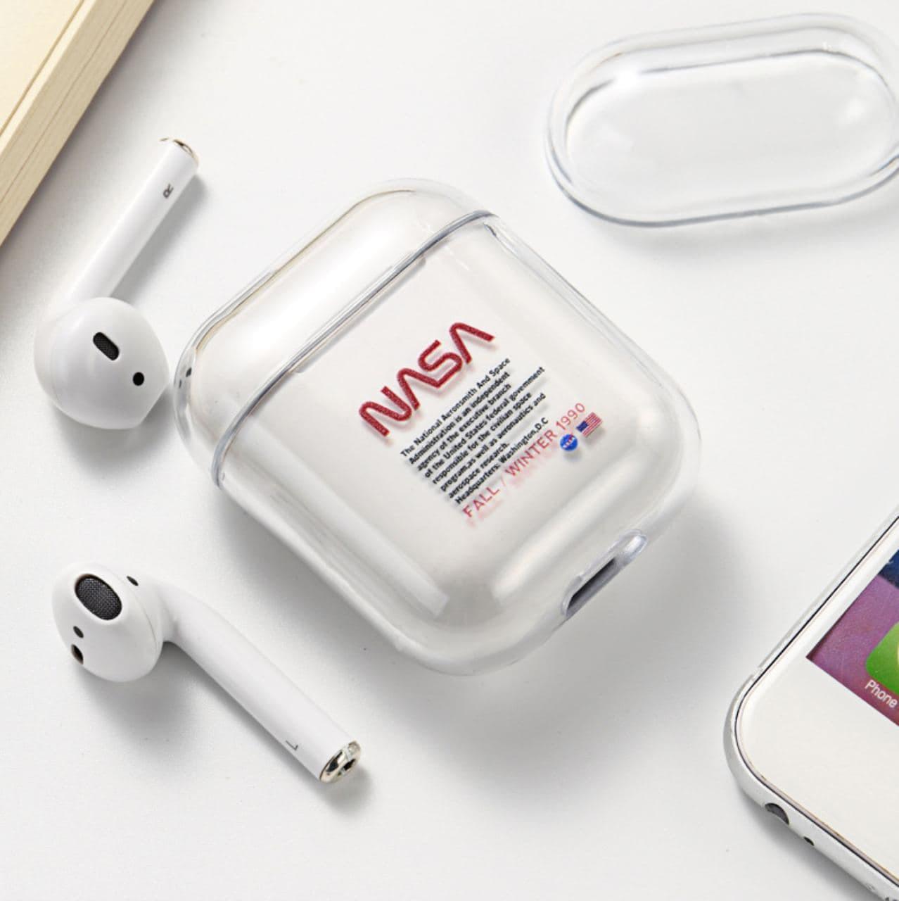Чохол NASA для Apple AirPods (Силікон) HQ138S