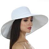 Річна крислатий капелюх 16 см з модельованими полями колір чорний, фото 3