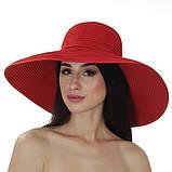 Річна крислатий капелюх 16 см з модельованими полями колір чорний, фото 4