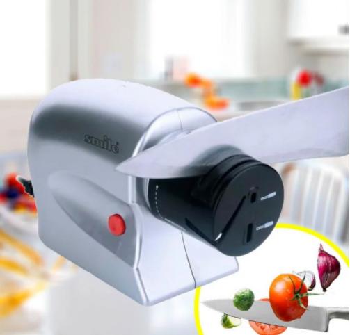 Электрическая точилка для ножей и ножниц от сети 220V 20 Вт