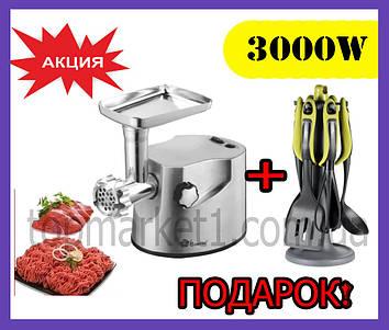Электрическая мясорубка Domotec 2021 3000w. Електрична мясорубка домотек. Мясорубки domotec с реверсом