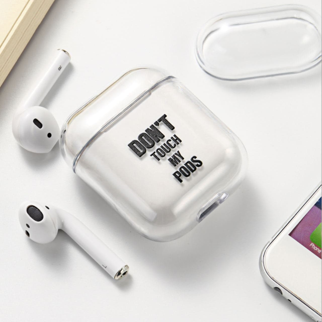 Чохол don't touch my pods для Apple AirPods
