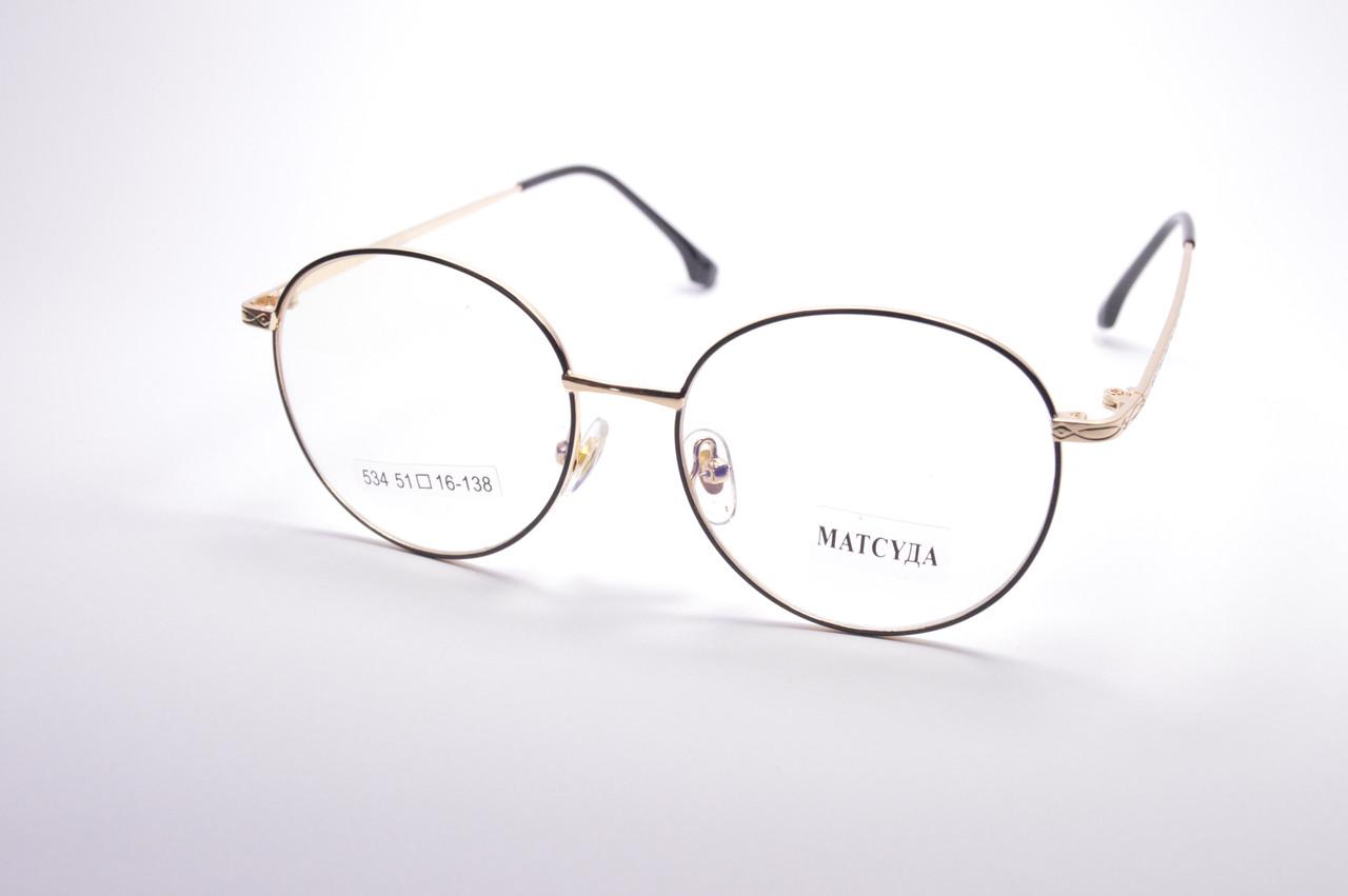 Стильные очки для работы за компьютером MATSUDA Blue Blocker (534 ч)