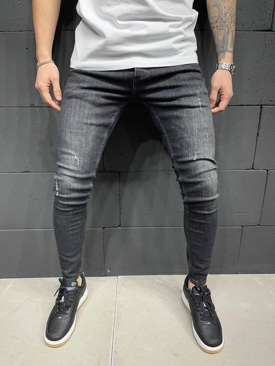 Чоловічі джинси 2Y Premium 5859 grey