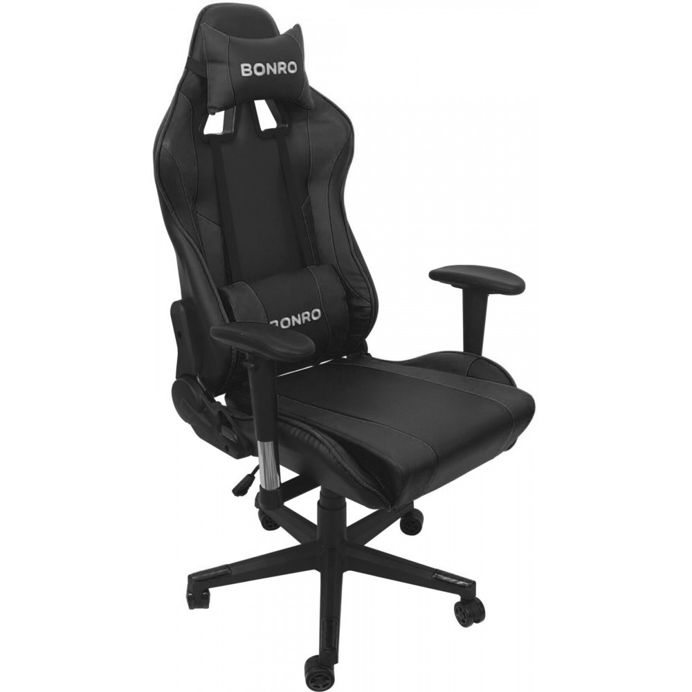 Крісло геймерське Bonro 2011-А чорне
