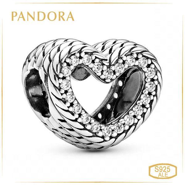 "Пандора Шарм ""Серце з орнаментом"" Pandora 799100C01"