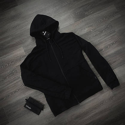 Кофта Чоловіча Intruder 'Космо' чорна спортивна толстовка з капюшоном + Подарунок, фото 2