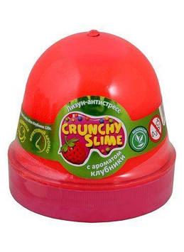 """Лизун-антистрес """"Mr.Boo"""" Crunchy slime Полуниця 120гр №80087(24)"""