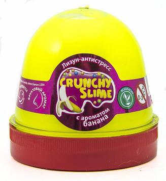 """Лизун-антистрес """"Mr.Boo"""" Crunchy slime Банан 120гр №80089(24)"""
