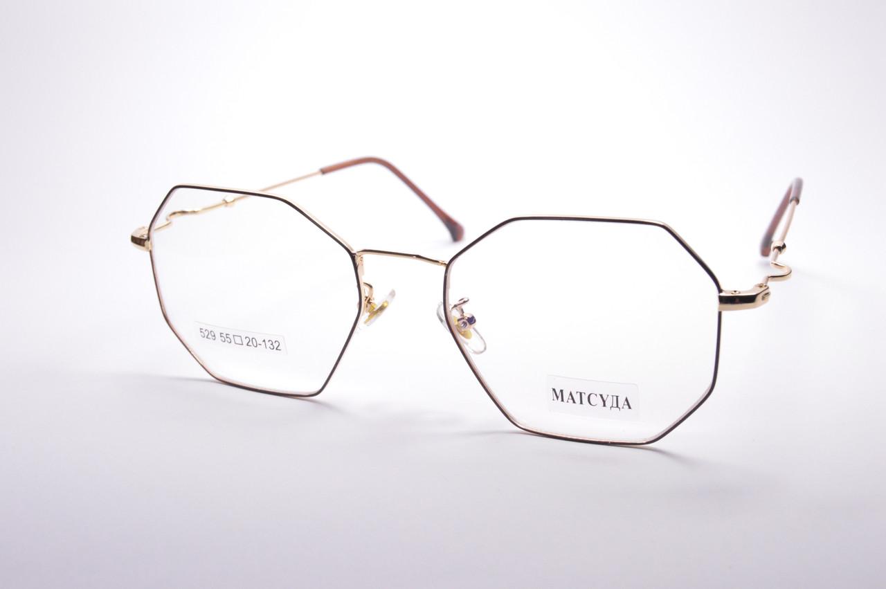Стильные очки для работы за компьютером MATSUDA Blue Blocker (529 ч)