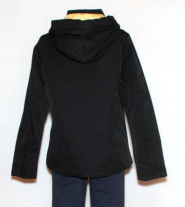 Чорна куртка жіноча осінньо весняна S-XL, фото 3