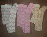 Колготки для новонароджених опт легкий арнамент, фото 6