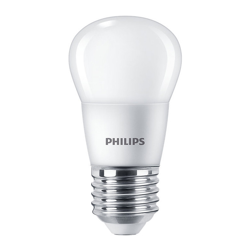 Светодиодная лампа Philips ESSLEDLuster 6.5-75W E27 840 P45NDFR RCA нейтральный белый
