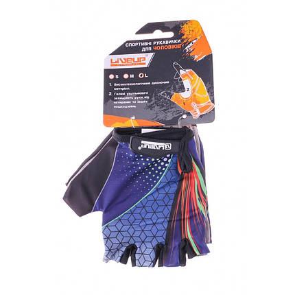 Спортивные перчатки Liveup WOMEN MULTI SPORT GLOVES (Размер - M), фото 2
