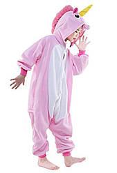 Піжама комбінезон кигуруми Єдиноріг зірковий для дівчаток цілісна рожева дитяча піжама кигуруми