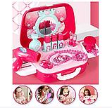 Портативний дитячий рюкзак Hairdresser toy   Набір для маленького перукаря   ІГРОВИЙ НАБІР ДЛЯ ДІВЧИНКИ, фото 2