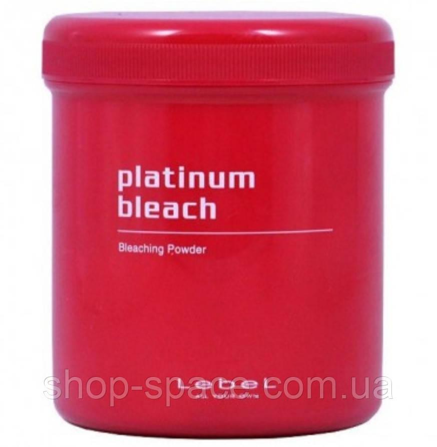 Осветляющий порошок Lebel Oxycur Platinum Bleach