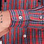 Рубашка в клетку мужская Pierre Cardin из Англии - на длинный рукав, фото 6