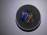 Неокуб  Радуга в боксе Neocube разноцветный 216 шариков, фото 10