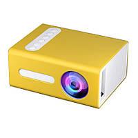 Проектор портативный мультимедийный RIAS T300 Mini Yellow (4_00510), фото 1