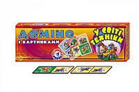 """Домино """"В мире техники ТехноК"""" красочная развивающая настольная игра для детей от 3-х лет тренирует память."""