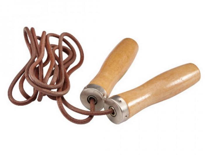 Скакалка швидкісна LiveUP Jump Rope Leather 275 см (LS3121)