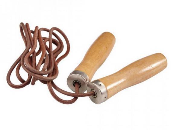 Скакалка швидкісна LiveUP Jump Rope Leather 275 см (LS3121), фото 2