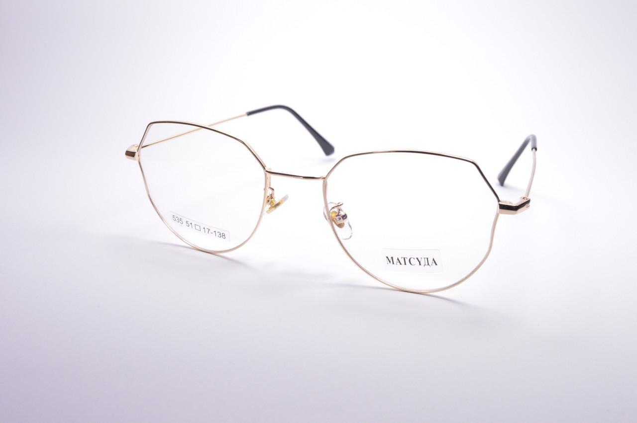Стильные очки для работы за компьютером MATSUDA Blue Blocker (535 з)