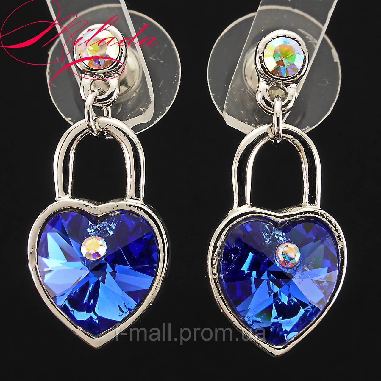 Сережки з кристалами SWAROVSKI.